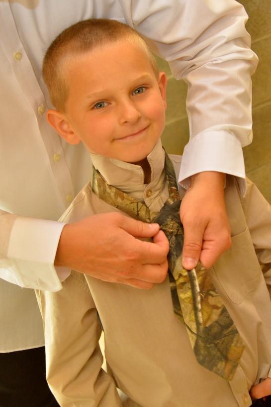 Wedding bells for Ed & Alvena...!