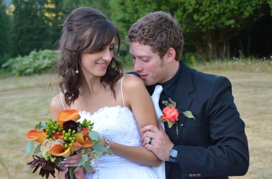 A very loving wedding...!!!