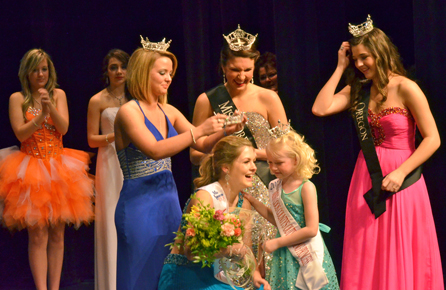 Quinlyn's Crowning Moment...!!!