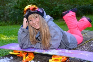 Snowboarding in October....!!!